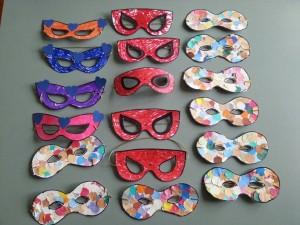Le mascherine di carnevale